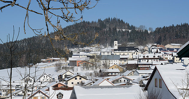 Winter in Mauth - Bayern
